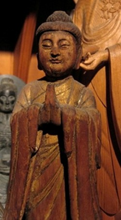 Buddha Hands in Gassho