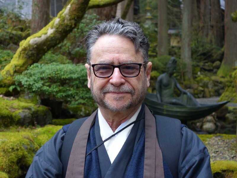 Sensei Rafe Martin at Eiheiji, Japan