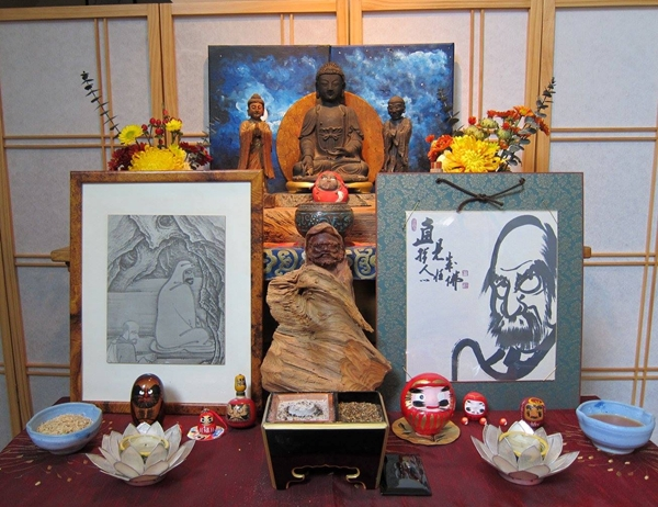 Endless Path Zendo Bodhidharma Day