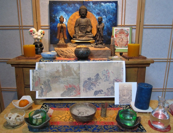 Endless Path Zendo Hungry Ghost Ceremony